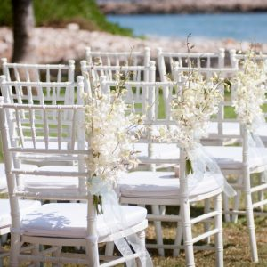 d) Wedding chairs